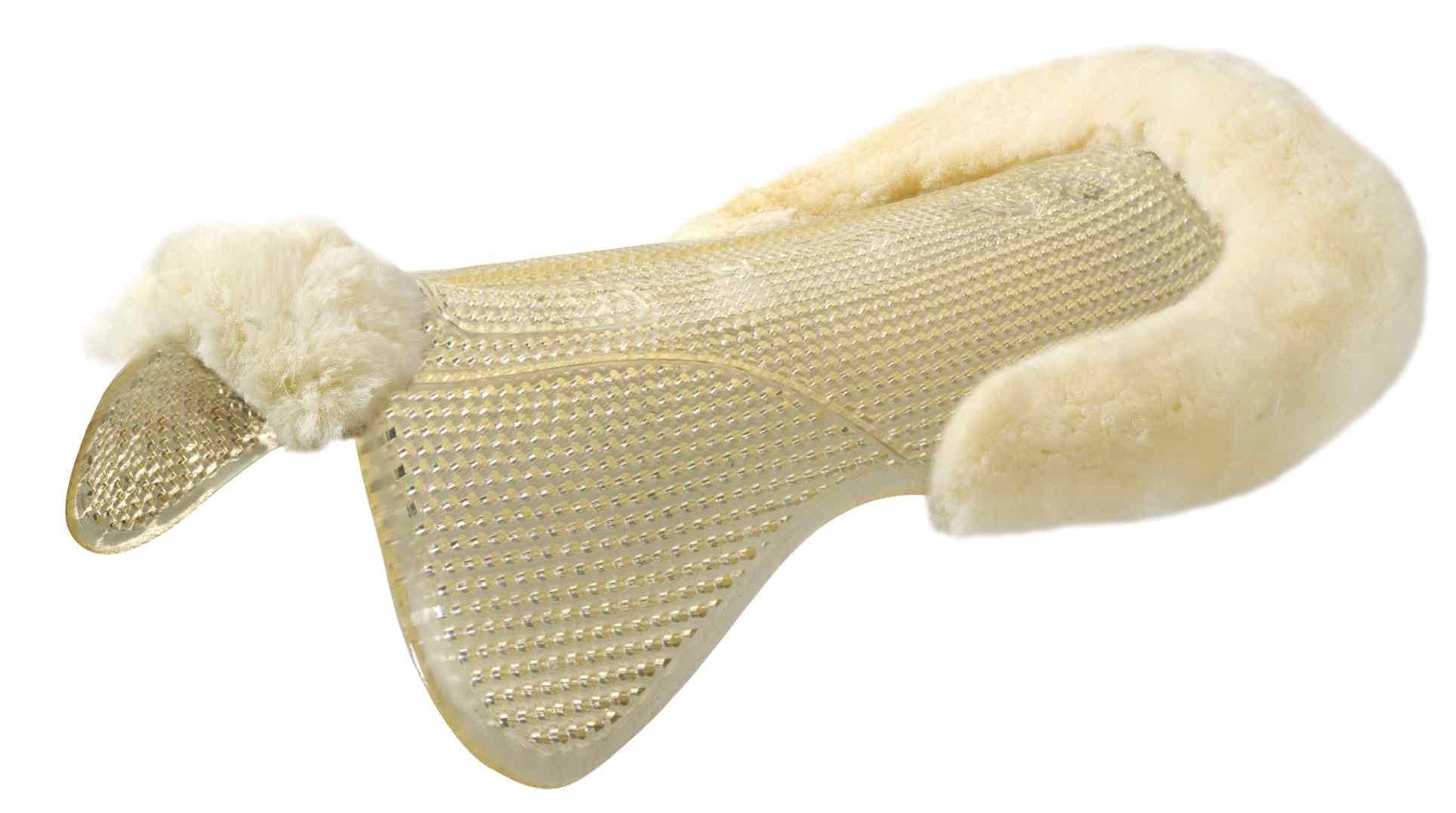 Acavallo Just-Gel Lambskin Half Pad Natural-Large